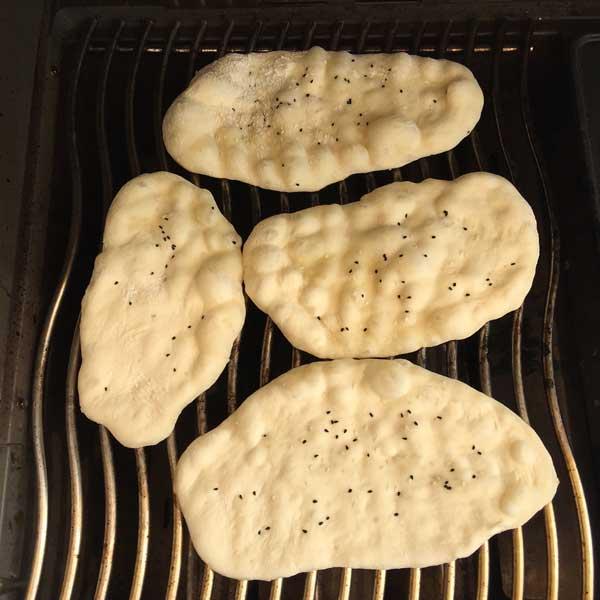 Brot vom Grill