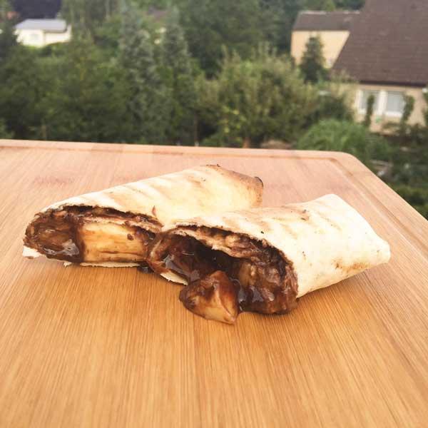 Tortilla vom Grill