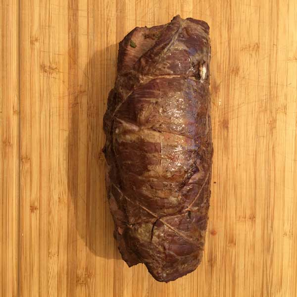 Flank Steak Rolle - Gegrillt
