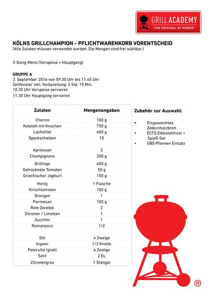 Weber Grillchallenge